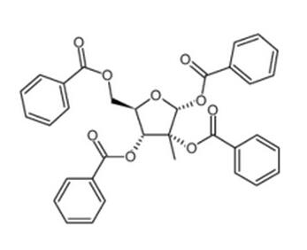 2-C-甲基-alpha-D-呋喃核糖四苯甲酸酯