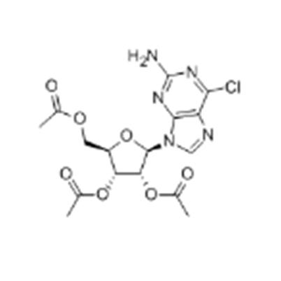 2,3,5,-三-O-乙酰-2-氨基-6-氯嘌呤核苷