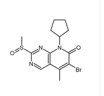 6-溴-8-环戊基-2-甲基亚磺酰基-5-甲基-8H-吡啶并[2,3-D]嘧啶-7-酮;对苯丁氧基苯甲酸 / 4-(4-苯基丁氧基)苯甲酸